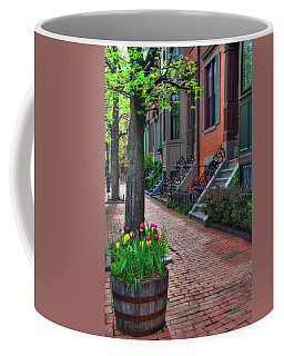 Boston South End Row Houses Coffee Mug by Joann Vitali