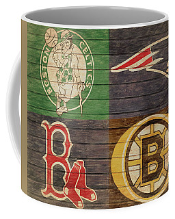 Boston Sports Teams Barn Door Coffee Mug