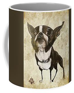 Boston Terrier - Antique Coffee Mug