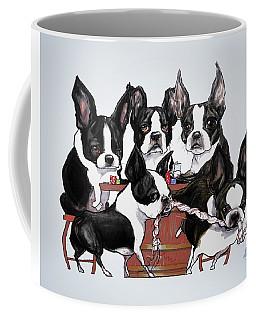 Boston Terrier - Dogs Playing Poker Coffee Mug