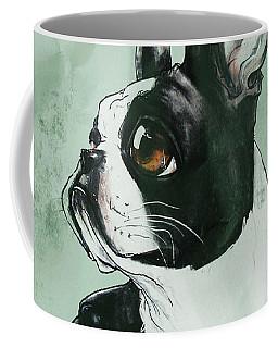 Boston Terrier - Green  Coffee Mug