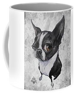 Boston Terrier - Grey Antique Coffee Mug
