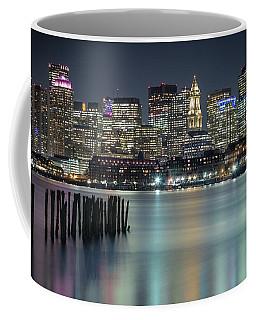 Boston's Skyline From Lopresti Park Coffee Mug