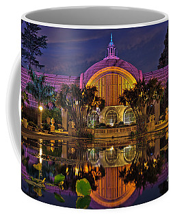 Botanical Building At Night In Balboa Park Coffee Mug