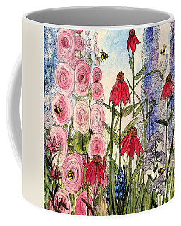 Botanical Wildflowers Coffee Mug by Laurie Rohner