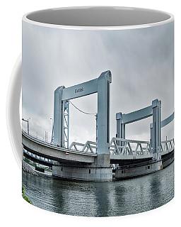 Botlek Bridge In Rotterdam, Netherlands Coffee Mug