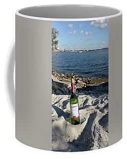 Bottled Beach Coffee Mug