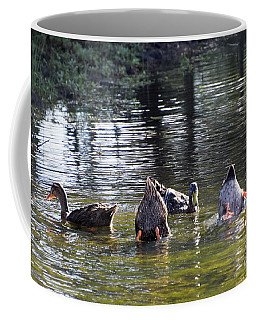Bottoms Up Coffee Mug by Cheryl McClure
