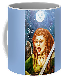 Boudicca  Let Not Our Daughters Be Forgotten Coffee Mug