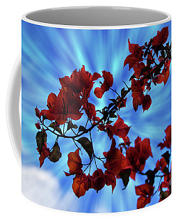Bougainvillea At Joe's Secret Garden Iv Coffee Mug by Al Bourassa