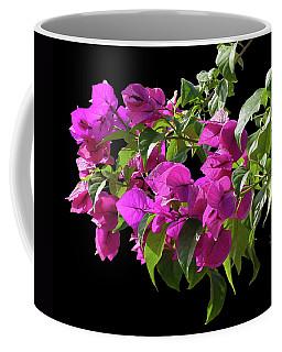 Bougainvillea Cutout Coffee Mug by Shirley Heyn