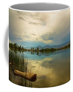 Coffee Mug featuring the photograph Boulder County Colorado Calm Before The Storm by James BO Insogna