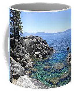 Boulder Cove On Lake Tahoe Coffee Mug