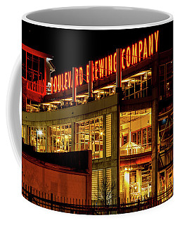 Boulevard Beer Sign Coffee Mug by Steven Bateson