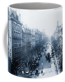 Boulevard Des Italiens Paris, France, 1880-1900 Coffee Mug