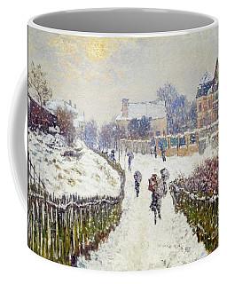 Boulevard Saint Denis Argenteuil In Winter Coffee Mug