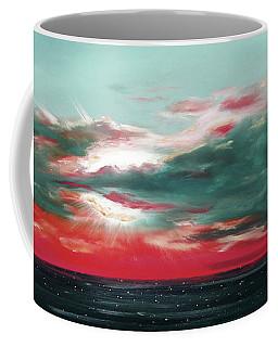 Bound Of Glory - Panoramic Sunset  Coffee Mug