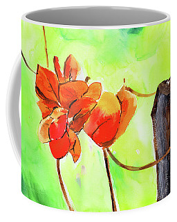 Coffee Mug featuring the painting Bound Yet Free by Anil Nene