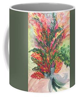 Bouquet And Ribbon Coffee Mug