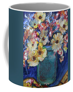 Bouquet Flowers Of Blue  Coffee Mug