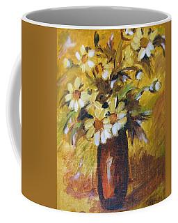 Bouquet Flowers Of Gold Coffee Mug