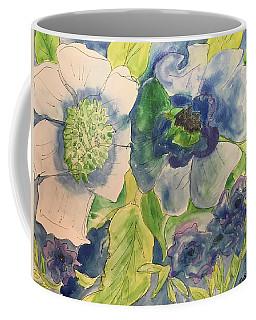 Bouquet Of Blue  Coffee Mug