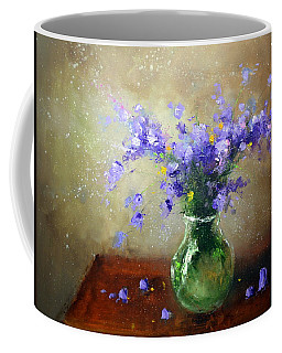 Bouquet Of Bluebells Coffee Mug