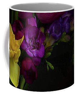 Flowers Dutch Style Coffee Mug