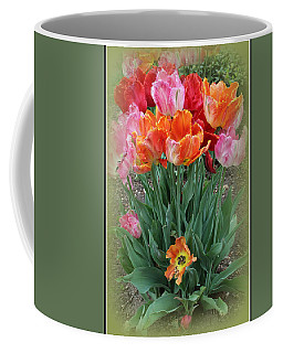 Bouquet Of Colorful Tulips Coffee Mug