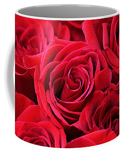 Bouquet Of Red Roses Coffee Mug