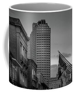 Bourbon Buildings In Black And White Coffee Mug