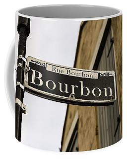 Bourbon Street, New Orleans, Louisiana Coffee Mug