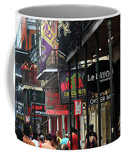 Bourbon Street Coffee Mug