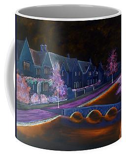 Bourton At Night Coffee Mug by Elizabeth Lock