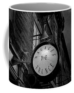 Boutique Sign Black And White Coffee Mug