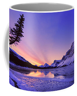 Bow Lake And Pine Coffee Mug