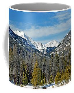 Bowen Mountain In Winter Coffee Mug
