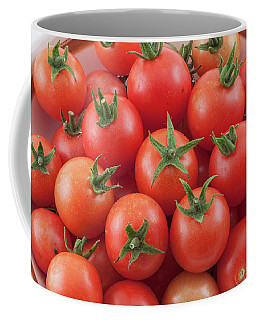 Coffee Mug featuring the photograph Bowl Of Cherry Tomatoes by James BO Insogna