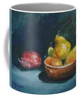 Bowl Of Fruit By Alan Zawacki Coffee Mug