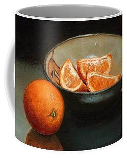 Bowl Of Oranges Coffee Mug