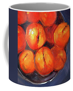 Bowl Of Peaches Still Life Coffee Mug