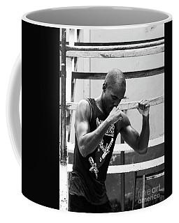 Boxer Warming Up Coffee Mug