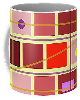 Boxes And Lines Coffee Mug
