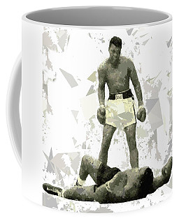 Coffee Mug featuring the painting Boxing 115 by Movie Poster Prints