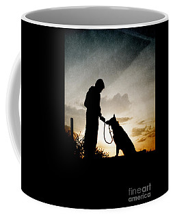 Boy And His Dog Coffee Mug