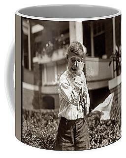 Boy Crying  Coffee Mug