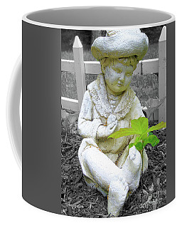Boy Coffee Mug by Susan Lafleur
