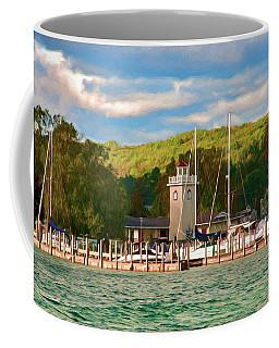 Boyne City Marina Coffee Mug