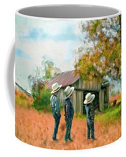 Boys On The Farm Coffee Mug