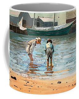 Boys Wading Coffee Mug